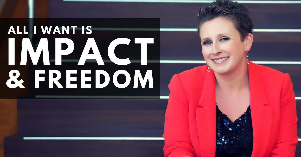 Jo Davidson: All I Want is Impact & Freedom